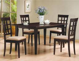 4 Chair Dining Sets Coaster Mix Match Oval Dining Leg Table Coaster Furniture