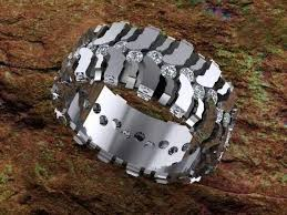 camo mens wedding bands wedding rings ideas determining camo wedding rings as the best
