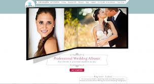 wedding album online create a wedding album using the bridebox online software