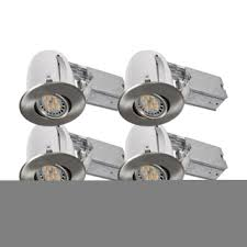 Dimmable Led Track Lighting Bazz Lighting 310l7bx4 Brushed Chrome Set Of 4 Dimmable Led