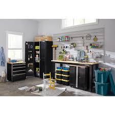 garage door for kitchen cabinet husky ready to assemble 24 steel 2 door garage base