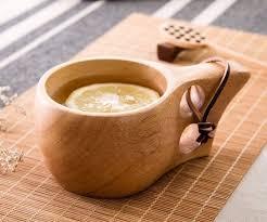 fancy coffee cups ergonomic wooden coffee mug by veasoon ohgizmo