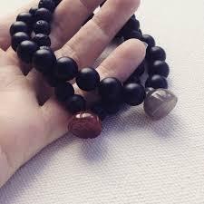 made bracelet images Black lava bracelet wrist mala beads made in nz pillow book design jpg