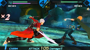 theme psp fate stay night fate extra archer vs archer robin hood youtube