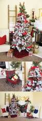 210 best christmas trees traditional red images on pinterest