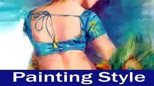 beautiful painting painting styles how to paint portrait