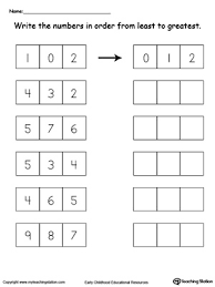 greater than worksheet comparing numbers 1 through 9