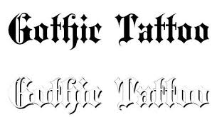 30 best free tattoo fonts 2015