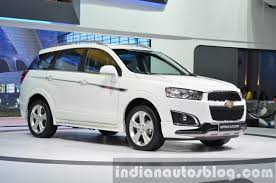 chevrolet captiva 2016 2014 chevrolet captiva sport edition at the 2014 thailand motor