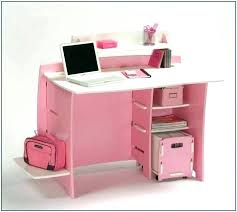 Pink Computer Desk Black And Pink Desk Parcell Peonies Office Reveal Computer