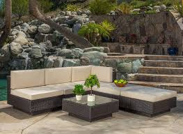 6 Piece Garden Furniture Patio Set - enjoy your summer with outdoor wicker furniture 50 idea photos