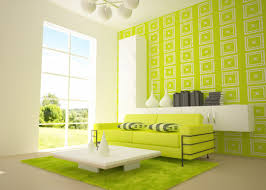 two tone wall colors examples purple and green bedroom decorating