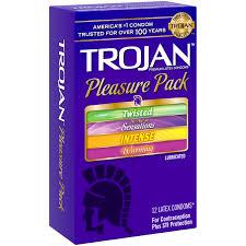 trojan pleasure pack assorted lubricated latex condoms 12 ct trojan pleasure pack assorted lubricated latex condoms 12 ct walmart com
