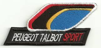 logo peugeot sport patch embroidery peugeot talbot sport 8 5cm x 4cm los parches