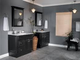 black and gray bathroom lighting interiordesignew com