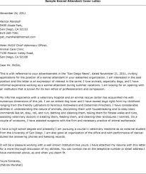kennel attendant cover letter