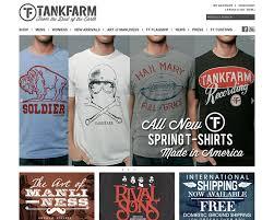 best t shirt shop tankfarm clothing cool t shirts best designs award