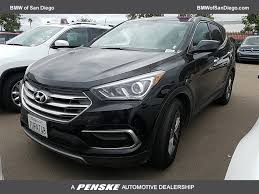 certified pre owned lexus san diego 2017 used hyundai santa fe sport 2 4l automatic at bmw of san