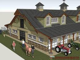 Barn Plans by Hb100 Horse Barn Plans Construction Horse Barn Design Youtube