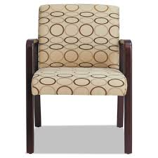 Reception Lounge Chairs Alera Reception Lounge Series Mahogany Fabric Guest Chair Free