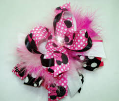 how to make headband bows how to put marabou on a hair bow