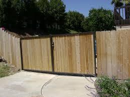 beautiful swing unpainted wooden driveway gates with iron frames beautiful swing unpainted wooden driveway gates with iron frames as midcentury fron fences designs ideas