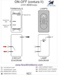 wiring diagram on off on marine rocker switch u2013 readingrat net