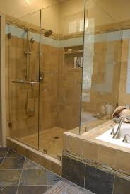 bathroom shower ideas for small bathrooms grey white brown color