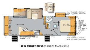 2017 forest river wildcat maxx 29rlx travel trailer stock