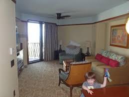 Disney 2 Bedroom Villas Living Area In 2 Bedroom Dvc Villa Picture Of Aulani A Disney