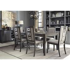 Formal Dining Room Sets For 8 Chadoni 7 Piece Dining Set Table With 6 Side Chairs Bernie
