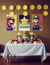 mario wrapping paper mario bros party cake paper party
