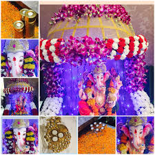 Home Decoration Of Ganesh Festival by Home Ganpati Decoration Competition Home Decor