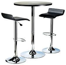 bar stool table set of 2 bar stool table set of 2 winsome spectrum 3 piece round pub chrome
