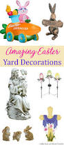 easter yard decorations incredible outdoor easter decorations ideas