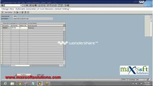 sap online training real time scenario maxsoftsolutions youtube