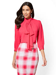 blouses with bows at neck blouses with bows at neck empat blouse