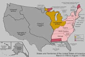 map usa in 1800 maps of united states early america 14001800 the expanding