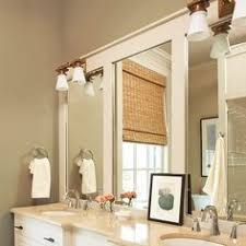 Frame Bathroom Mirror by 30 To Frame The Mirror This Site Has Lots Of Ideas On Changing Up