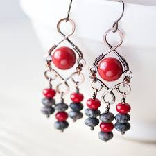 Nakamol Czech Crystal Beaded Chandelier Best 25 Chandelier Earrings Ideas On Pinterest Earrings