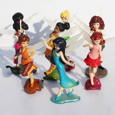 aliexpress buy 7pcs lot tinker bell pirate fairy