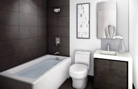 Contemporary Small Bathroom Ideas by Bathroom Fascinating Small Brown And White Bathroom Tile