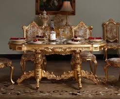 gold dining table set 2015 italian baroque style upscale restaurant furniture full gilding