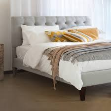 Upholstered Twin Beds Bedroom Luxurious Bedroom Design With Upholstered Bed Frame