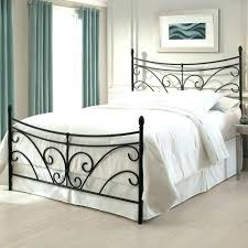 wrought iron bed frame amazon wrought iron king single bed frame