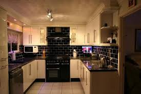 b q kitchen ideas black kitchen tile modern with black and white tile kitchen design