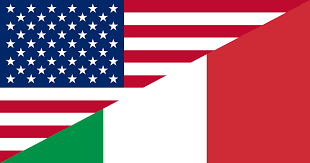 Flag Italy File Flag Of The United States And Italy Svg Wikimedia Commons
