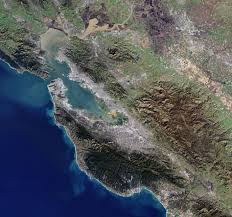 Satellite Map Live Earth From Space The Bay Area Observing The Earth Our