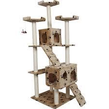 cat furniture mesmerizing gopetclub inch cat tree brown chewycom tall cat tree