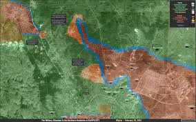 Syria Situation Map by Map The Military Situation In Northern Outskirts Of Aleppo City